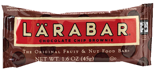 Chocolate Chip Brownie Flavourted Larabar